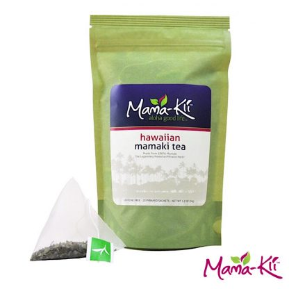 ハワイアン ママキティー(ティーバッグ20包)-栄養豊富なオーガニック ハワイアンハーブティー