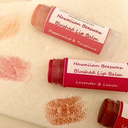 プアラニ ビーズワックスリップバーム-ハワイのナチュラル素材でできたリップクリーム-ほんのり色付く