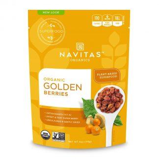 ナビタス オーガニック ゴールデンベリー227g-栄養豊富なインカのほおずき