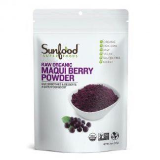 サンフード オーガニック マキベリーパウダー227g-抗酸化作用はアサイーの5倍!美容フルーツ