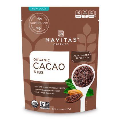 ナビタス オーガニック カカオニブimage-無糖でチョコレートの満足感