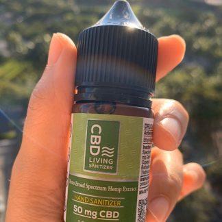 CBD配合のハンドサニタイザー(携帯用消毒液)