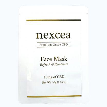 高品質CBDネクシアのCBDと美容液がたっぷり入ったシートマスク